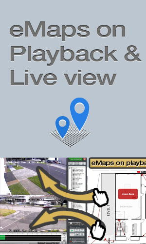 eMaps on Live and Playback